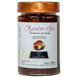 confiture de figue au poivre de Tchuli