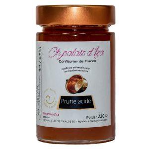 confiture de prune acide