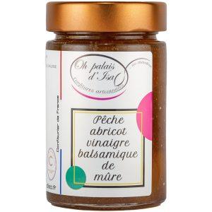 Confiture_Pêche_abricot_vinaigre_balsamique_de_mure